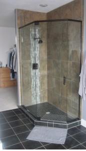 Holcam Corner Shower Kit