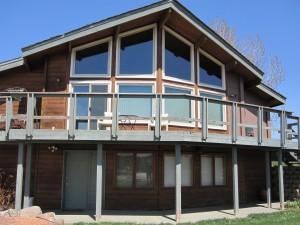 Trapezoid House